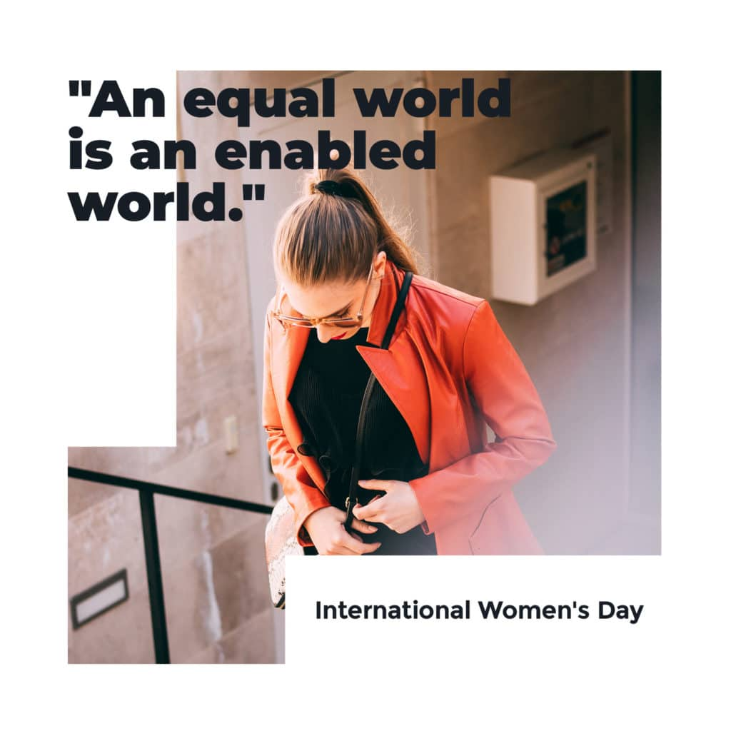 woman on women's day