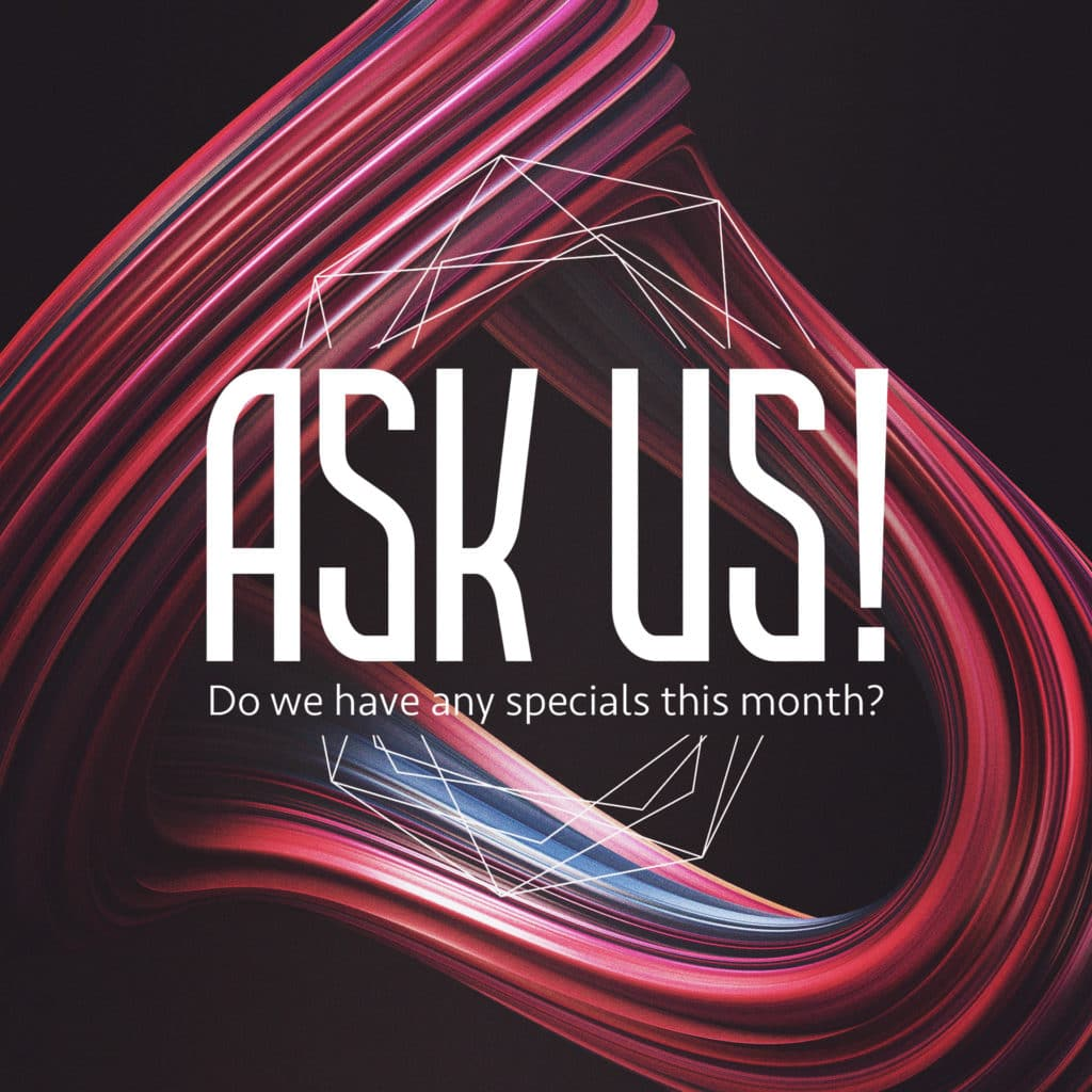 ask us social media post