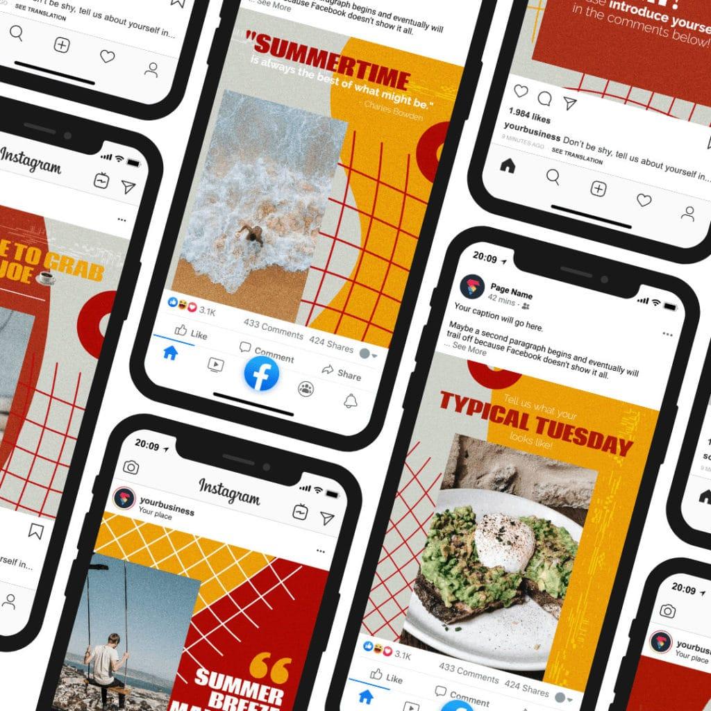 social media pack preview